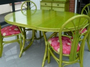 Table Bali Ronde Avec 1 Allonge -